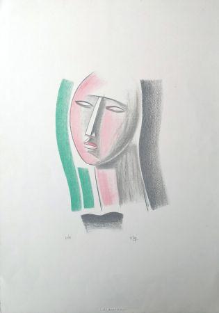 Литография Tozzi - Volto
