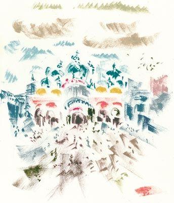 Литография Masson - Voyage À Venise