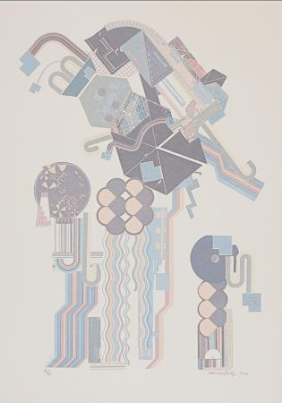 Сериграфия Paolozzi - W16