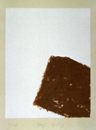 Литография Beuys - Wandernde Kiste Nr. 3