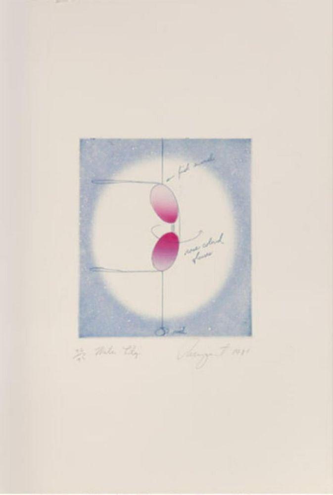 Литография Rosenquist - Water Lily