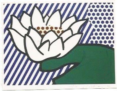 Сериграфия Lichtenstein - Water Lily