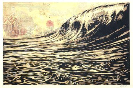 Сериграфия Fairey - Wave