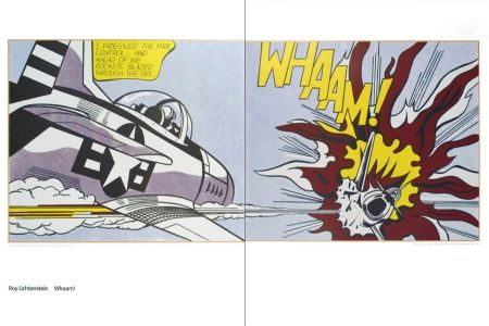 Литография Lichtenstein - Whaam
