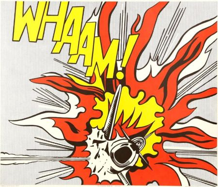 Литография Lichtenstein - Whaam!