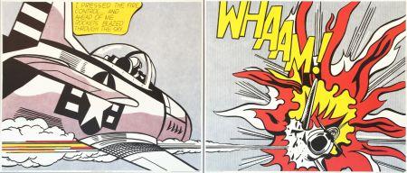 Литография Lichtenstein - WHAAM! (Set)
