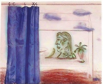 Гравюра Hockney - What is this Picasso?