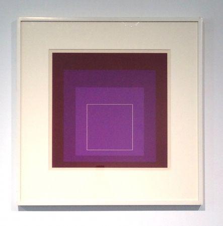 Литография Albers - White Line Square, XI