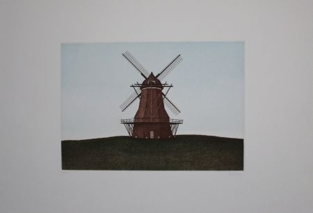Офорт И Аквитанта Moritz - Windmühle