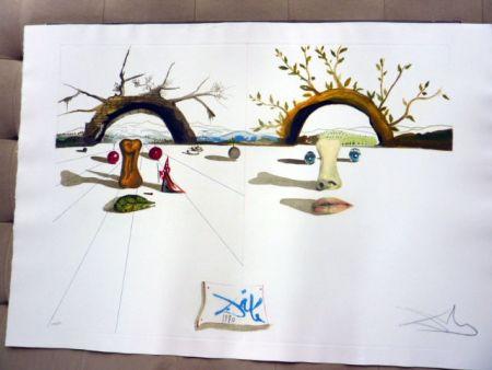 Гравюра Dali - Winter And Summer