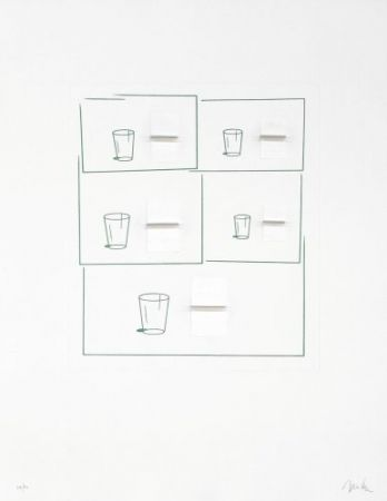 Литография Caldas - Without title 2