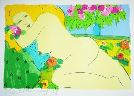 Литография Ting - Woman 15