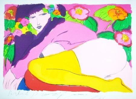 Литография Ting - Woman 19