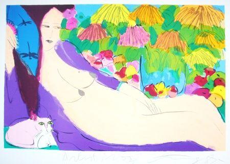 Литография Ting - Woman 21