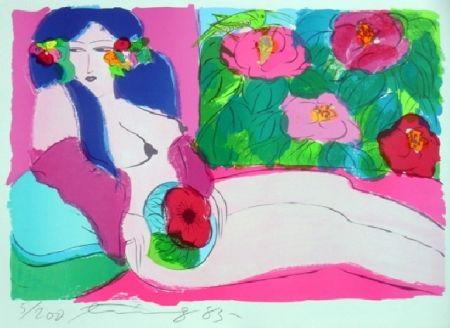 Литография Ting - Woman 7
