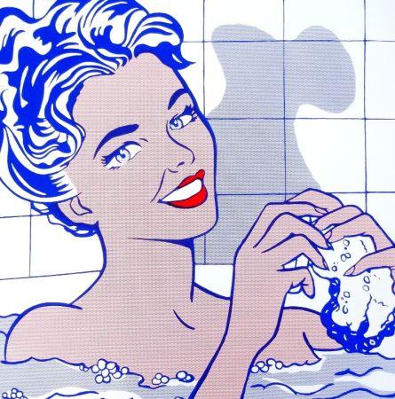 Сериграфия Lichtenstein - Woman In Bath
