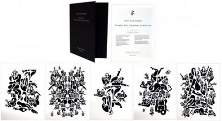 Литография Mcginness - Women, The Polígrafa Portfolio
