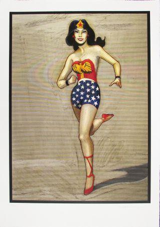Гравюра На Дереве Ramos - Wonder Woman
