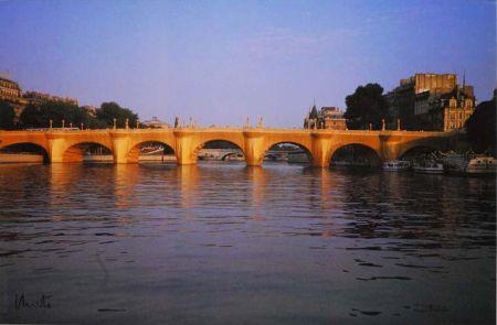 Многоэкземплярное Произведение Christo - '' Wrapped  Pont Neuf ''