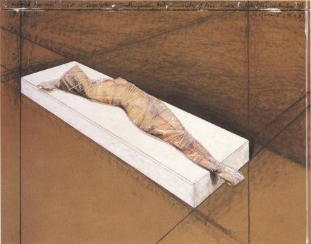 Нет Никаких Технических Christo - Wrapped Woman