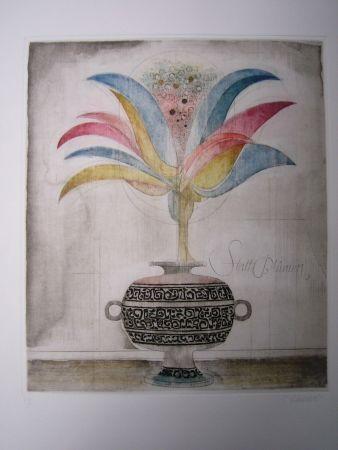 Офорт И Аквитанта Finsterer - Wunderblume