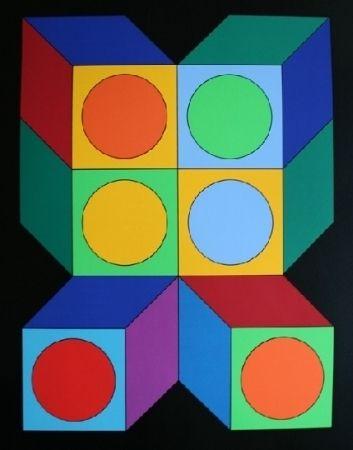 Сериграфия Vasarely - XICO 5