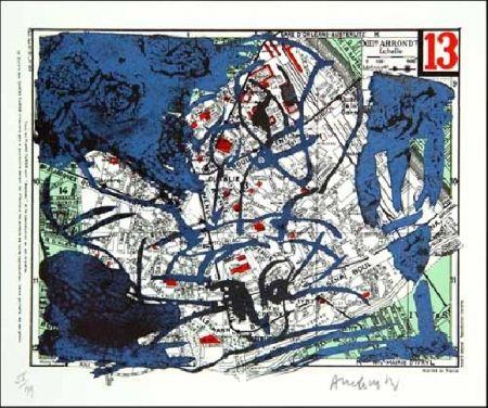 Литография Alechinsky - XIIIe Arrondissement