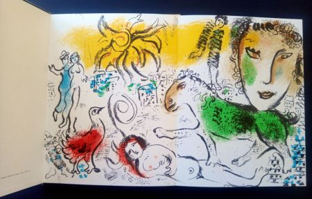 Иллюстрированная Книга Chagall - XXe Siècle chagall monumental