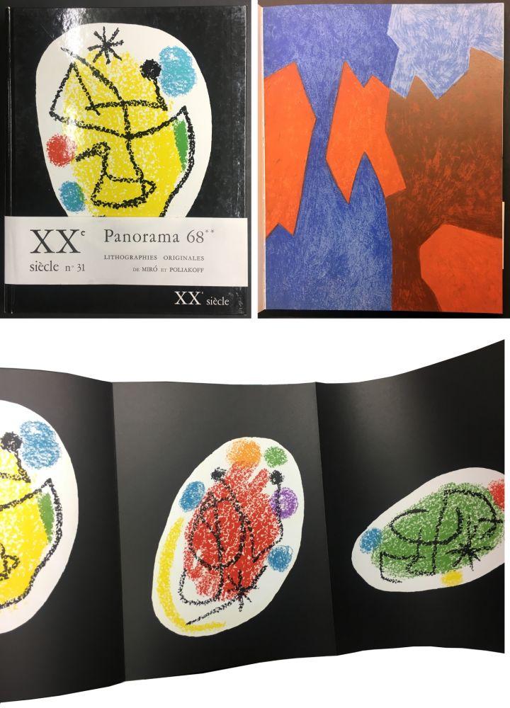 Иллюстрированная Книга Miró - XXe SIECLE. Nouvelle série. XXXe année. N° 31. Décembre 1968 - PANORAMA 68. LES GRANDES EXPOSITIONS