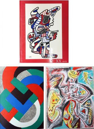 Иллюстрированная Книга Delaunay - XXe SIECLE. Nouvelle série. XXXIe année. N° 32. Juin 1969 (Sonia Delaunay, André Masson)