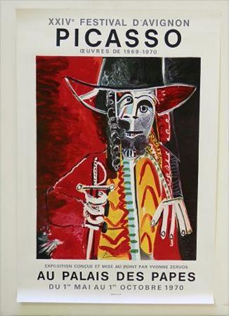 Литография Picasso - XXIV Festival D'Avignon