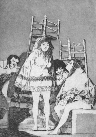 Офорт И Аквитанта Goya - Ya tienen asiento