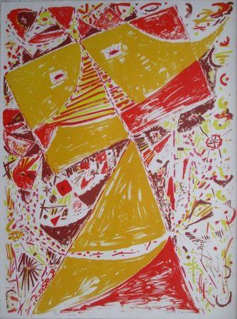 Литография Jacobsen - Yellow Mask
