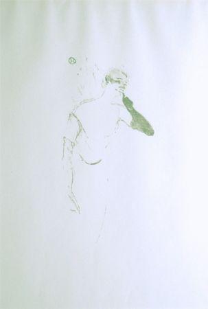 Литография Toulouse-Lautrec - Yvette Guilbert vue par Toulouse-Lautrec