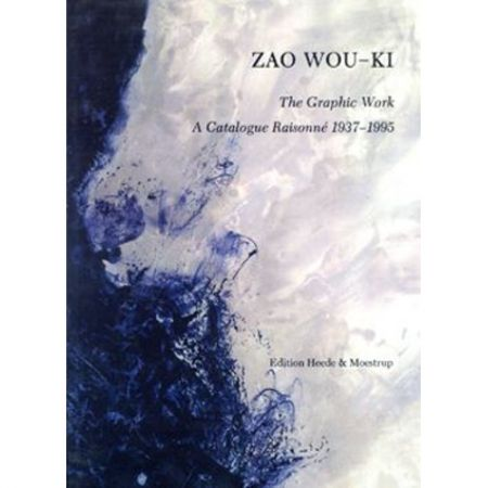 Иллюстрированная Книга Zao - Zao Wou-ki, the graphic work: a catalogue raisonné, 1937-1995