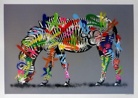 Многоэкземплярное Произведение Whatson - Zebra (hand finished)