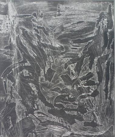 Гравюра Kirkeby - Zincography