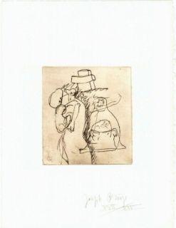 Гравюра Beuys - Zirkulationszeit: Die Mütter