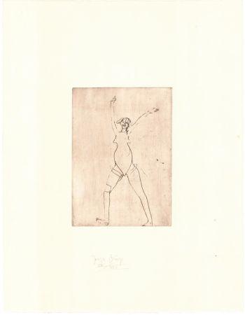 Гравюра Beuys - Zirkulationszeit: Mädchen