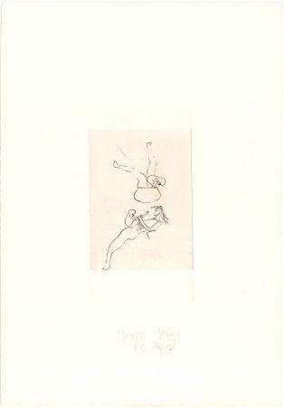 Гравюра Beuys - Zirkulationszeit: Topfspiel