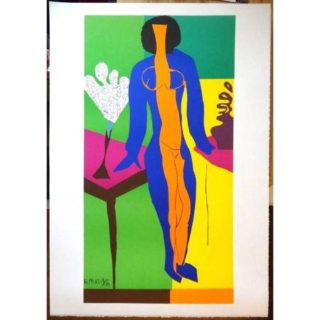 Литография Matisse - Zulma