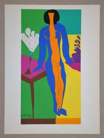 Литография Matisse (After) - Zulma - 1950