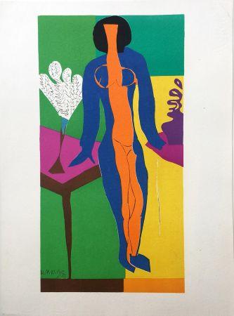 Литография Matisse - ZULMA (1950)